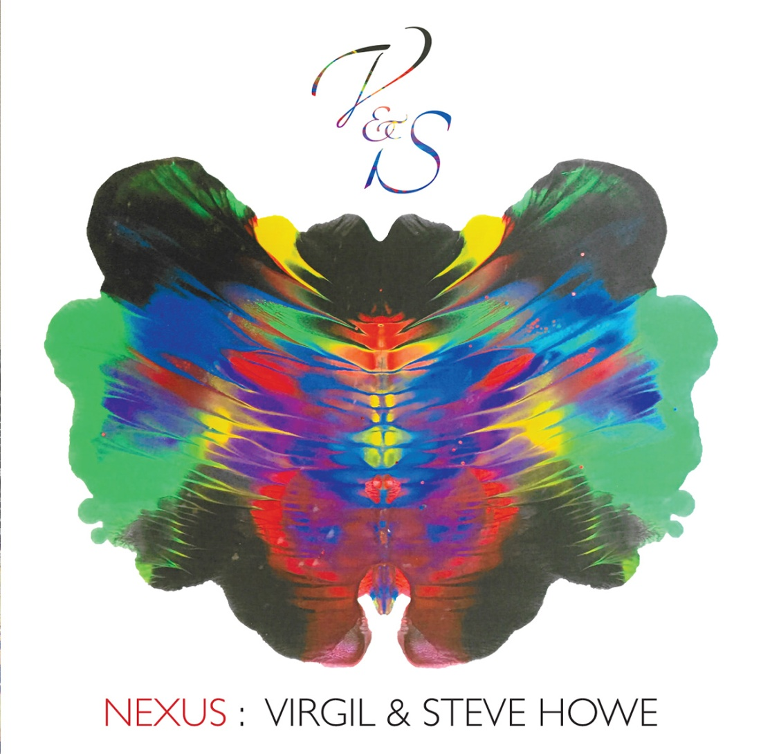 NEXUS : By Virgil & Steve Howe album cover. Design by Gottlieb Bros.