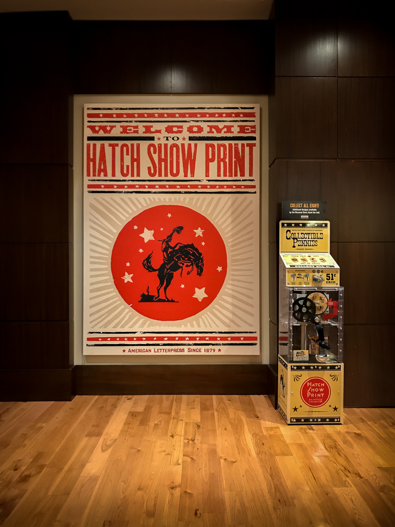 The Hatch Show Print entrance