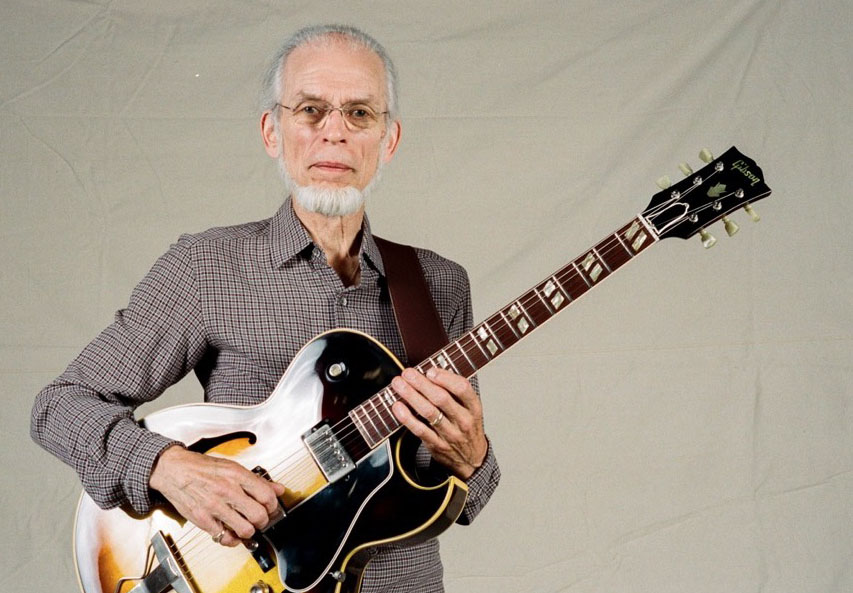 Yes guitarist Steve Howe with his legendary Gibson ES-175, photographed on Kodak film with our own legendary, 1957 Leica M3 coupled with a modern miracle, the Summilux 50mm aspherical lens. (c) Gottlieb Bros. 2016-2017