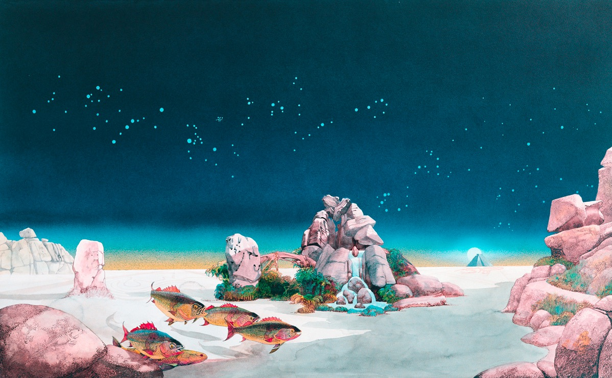 Tales from Topographic Oceans © Roger Dean 1973